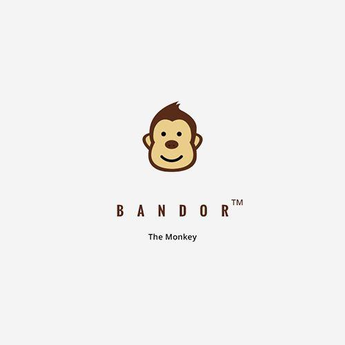 Логотип обезьяны вектор/psd скачать