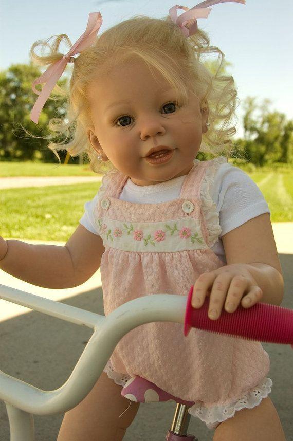 Custom Order Reborn doll baby girl Katie Marie by by BoonasBabies