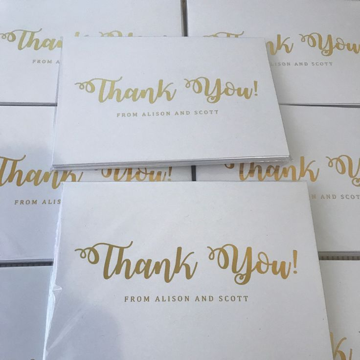 Thank you cards! Personalised  https://www.etsy.com/au/listing/535581533/thank-you-cards-thank-you-cards-from?ref=shop_home_active_1   #thankyou #thankyoucards #personalisedcards #wedding #foilcard