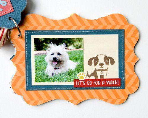 Doggie Mini Album **Echo Park Paper**