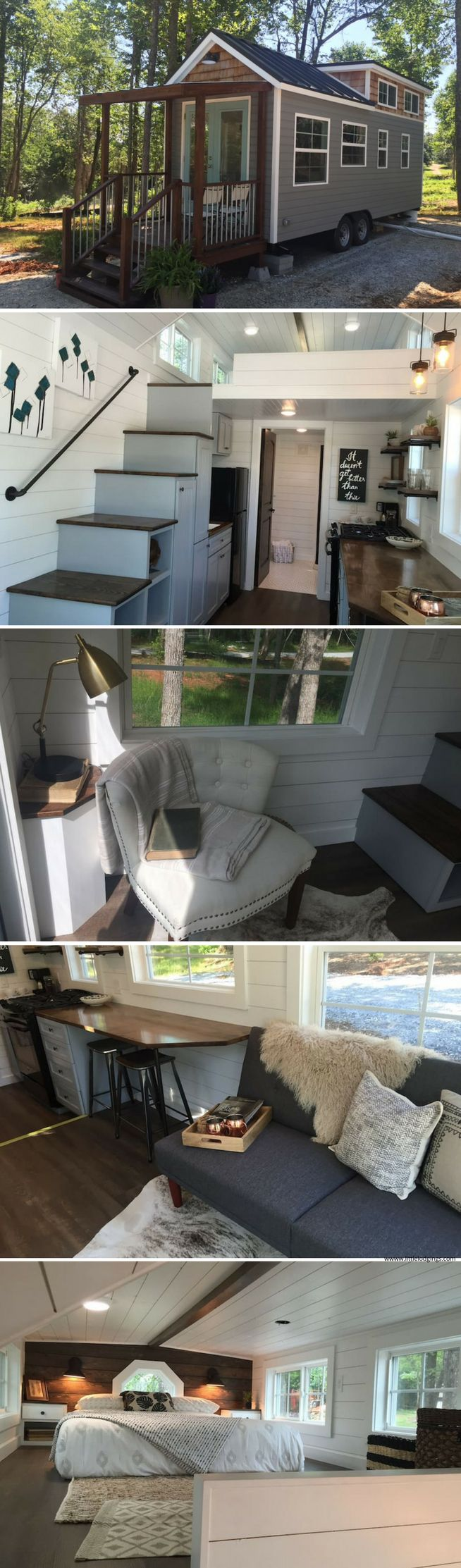 Converting sheds into livable space miniature homes and spaces - Shed Plans A Quiet Tiny House Retreat In Greer Sc Available For Rent On Airbnb Now You Can Build Any Shed In A Weekend Even If You Ve Zero Woodworking