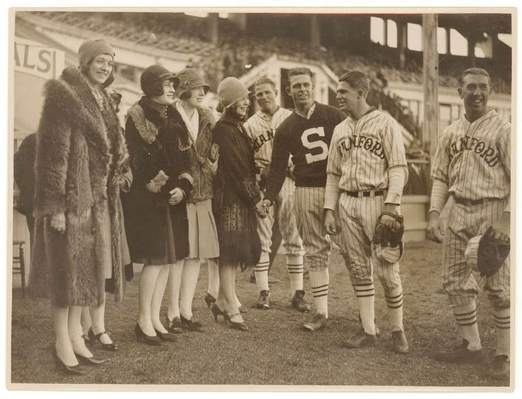 Two groups of Americans meet in Sydney in 1928: all-girl jazz band the Ingenues and the Stanford University baseball team. Sam Hood Collection, Mitchell Library, State Library of New South Wales:  http://www.acmssearch.sl.nsw.gov.au/search/itemDetailPaged.cgi?itemID=153809