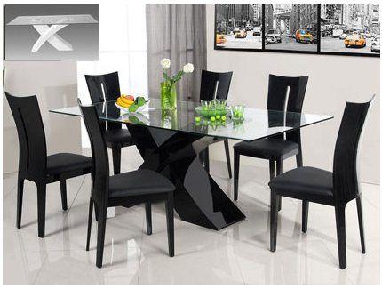 Pin de xavier amado en living mesas de comedor modernas - Mesas y sillas modernas para comedor ...