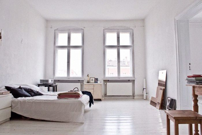 clean <3 i have a feeling i like white :3: Interior Design, Decor, Spaces, Dream, Interiors, Bedrooms, Place, White Bedroom