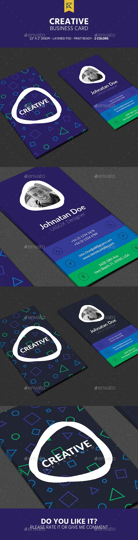Creative Vertical Business Card - Creative Business Cards Download here : https://graphicriver.net/item/creative-vertical-business-card/19307618?s_rank=132&ref=Al-fatih