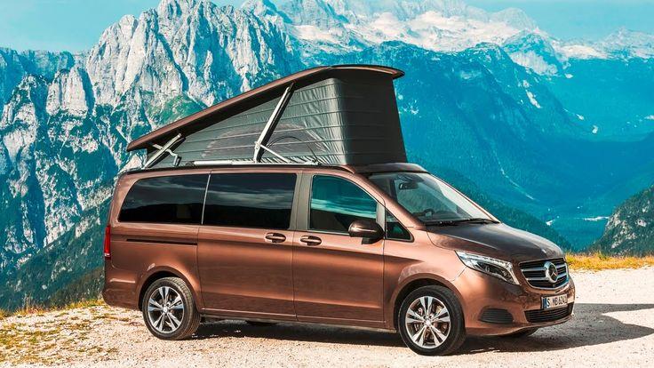 Mercedes Marco Polo Compact Camper Vans - Dusseldorf Caravan