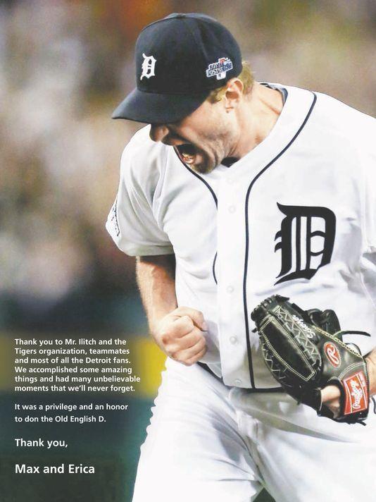 Max Scherzer Detroit Free Press Ad: http://www.freep.com/story/sports/mlb/tigers/2015/01/25/detroit-tigers-max-scherzer-ad/22291953/