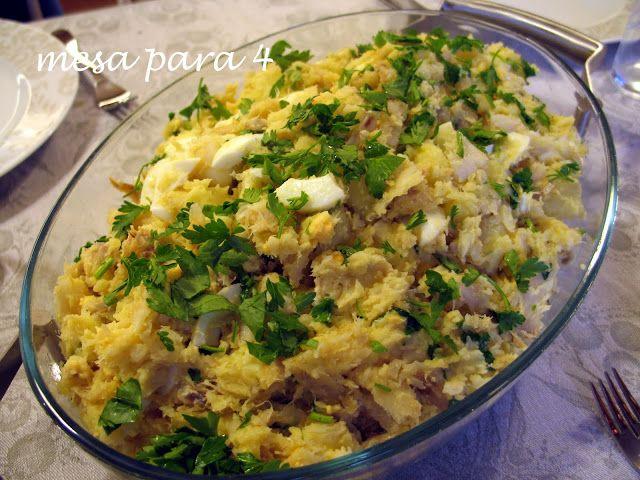 Receitas práticas de culinária: Bacalhau da Minha Mãe