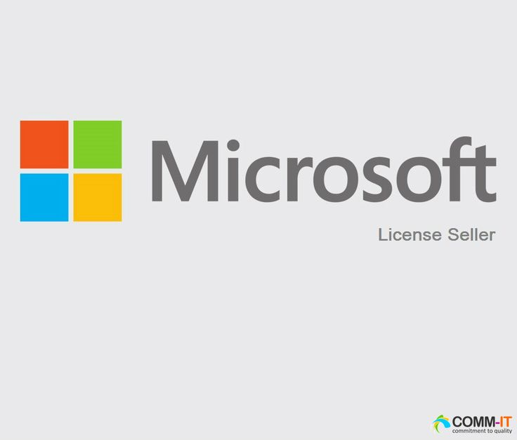 COMM-IT is one of the fast growing Microsoft License seller in the Kingdom of Saudi Arabia and is a Microsoft Certified Partner.