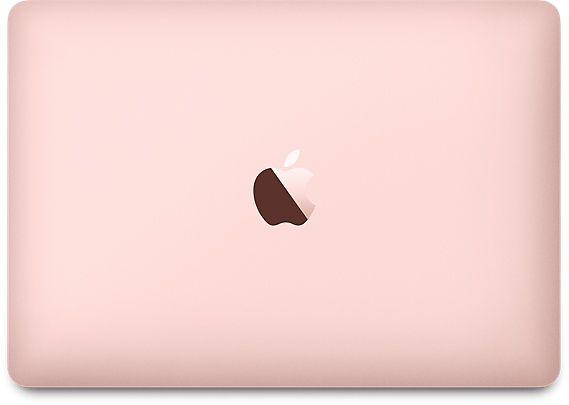 MacBook Roségold
