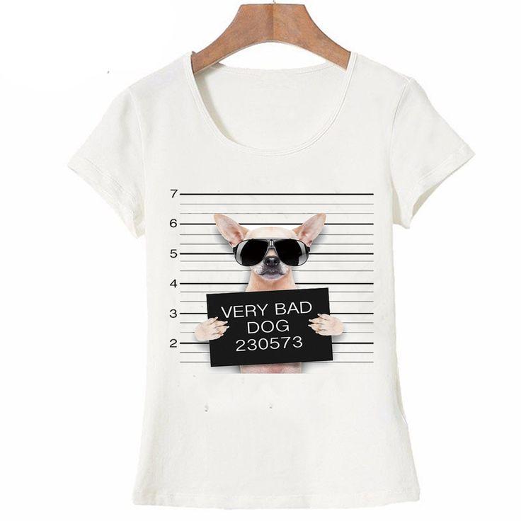 Chihuahua/ Pitbull/ Pug/ Staffy/ Cat Design T Shirts //Price: $30.35 & FREE Shipping //     #cat #dog  #kitten #petworld #puppy #animal