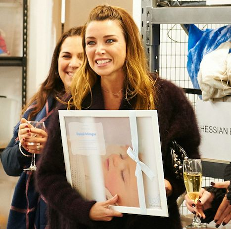 Wednesday night's guest of honour at our warehouse opening was Dannii Minogue who was instrumental in securing the lease with her story that aired on The Project. We presented her with a special momento and together we celebrated all the amazing people who helped us fit out the warehouse and move in. Thank you thank you thank you!