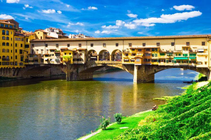 Puente Vecchio en Florencia --> www.despegar.com
