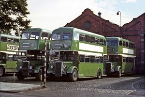 Dundee Daimlers at the Garage 1971 Bus Photo | eBay