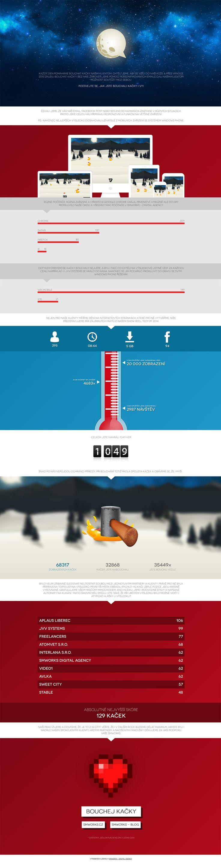 Bouchej kacky case study #website #newyearcard #casestudy #webdesign #game www.smworks.cz/bouchejkacky