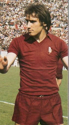 "Francesco ""Ciccio"" Graziani (born 16 December 1952) is an Italian football manager and former football player who played as a forward. He began his career with Arezzo in 1970, and later joined Torino in 1973, where he remained until 1981, winning a Serie A title in 1976 and the Capocannoniere title as the Serie A top goalscorer in 1977; with 122 total goals scored for Torino, he is the seventh-highest scorer in the history of the Torinese club behind Valentino Mazzola (123)."