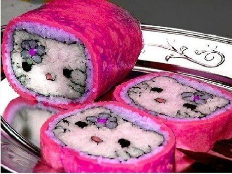 Hello Kitty roll