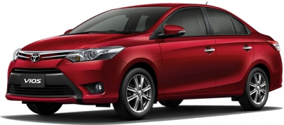 All-New Toyota Vios red