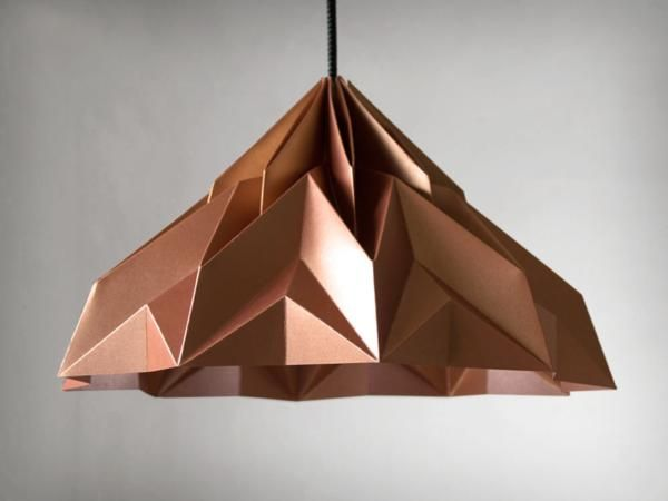 MAKE A WISH /// Origami-lampshade by werkdepot-shop