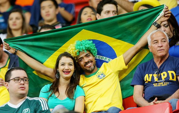 Brazil v Iraq: Men's Football - Olympics: Day 2