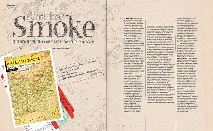 Literatura: American Smoke   Marvin 146: Capital