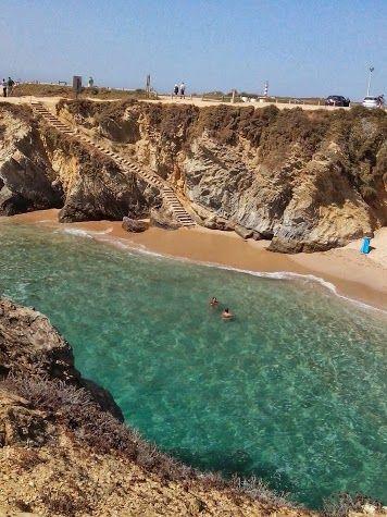 Porto Covo beach – Sines #Portugal enjoy portugal holidays www.enjoyportugal.eu
