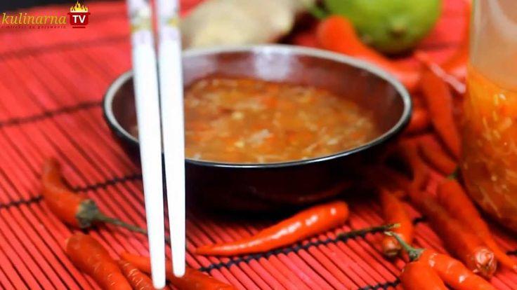 Jak zrobiś samemu Sos Słodko-Pikantny do sajgonek - Często służy również jako dip do innych potraw, na przykład krewetek w cieście, czy warzyw w tempurze