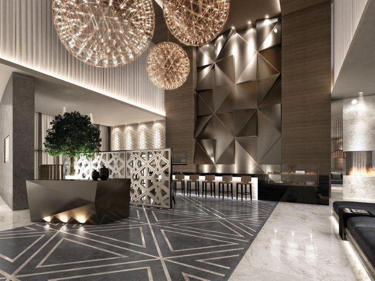 Hotels Interior Design Lobby Ideas | pretension | luxury | showy | marvelous