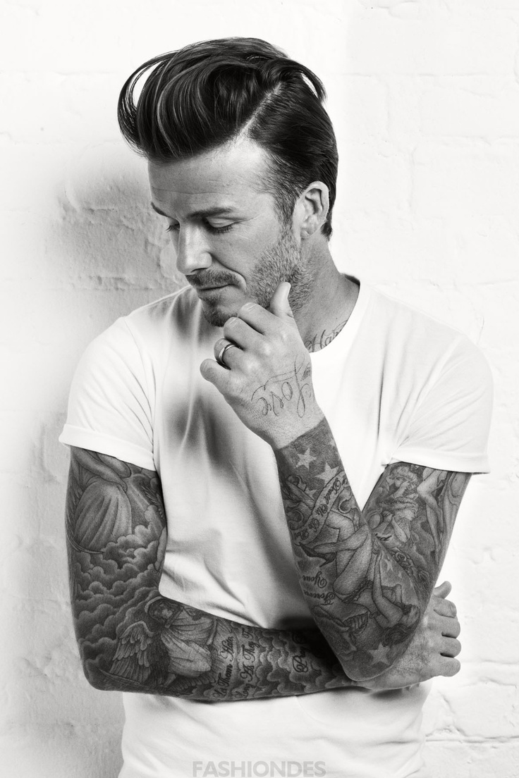 David beckham sleeve tattoos beckham yummy beckham hot for David beckham tattoo sleeve