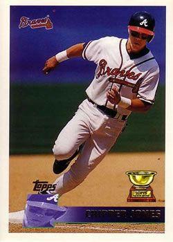 15 best 1996 topps atlanta braves images on pinterest atlanta 1996 topps 177 chipper jones fandeluxe Images