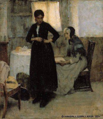 Wiik, Maria Maailmalle, 1889