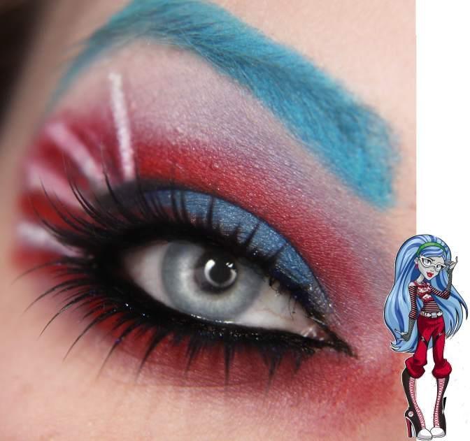 Ghoulia Yelp / Monster High /  - GORGEOUS makeup by Jangsara (https://www.facebook.com/jangsara.fanpage)