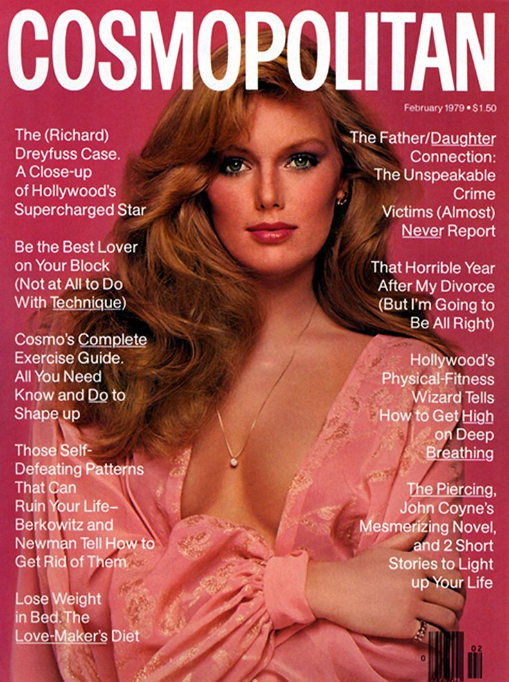Patti Hansen - Cosmopolitan, Feb. 1979. Before she married Keith Richards, New Yorker Patti Hansen was a top model of the 70s and early 80s.    Haha, Cosmo was only $1.50 at the time ~Steph