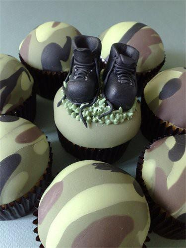 Veterans Day cupcakes