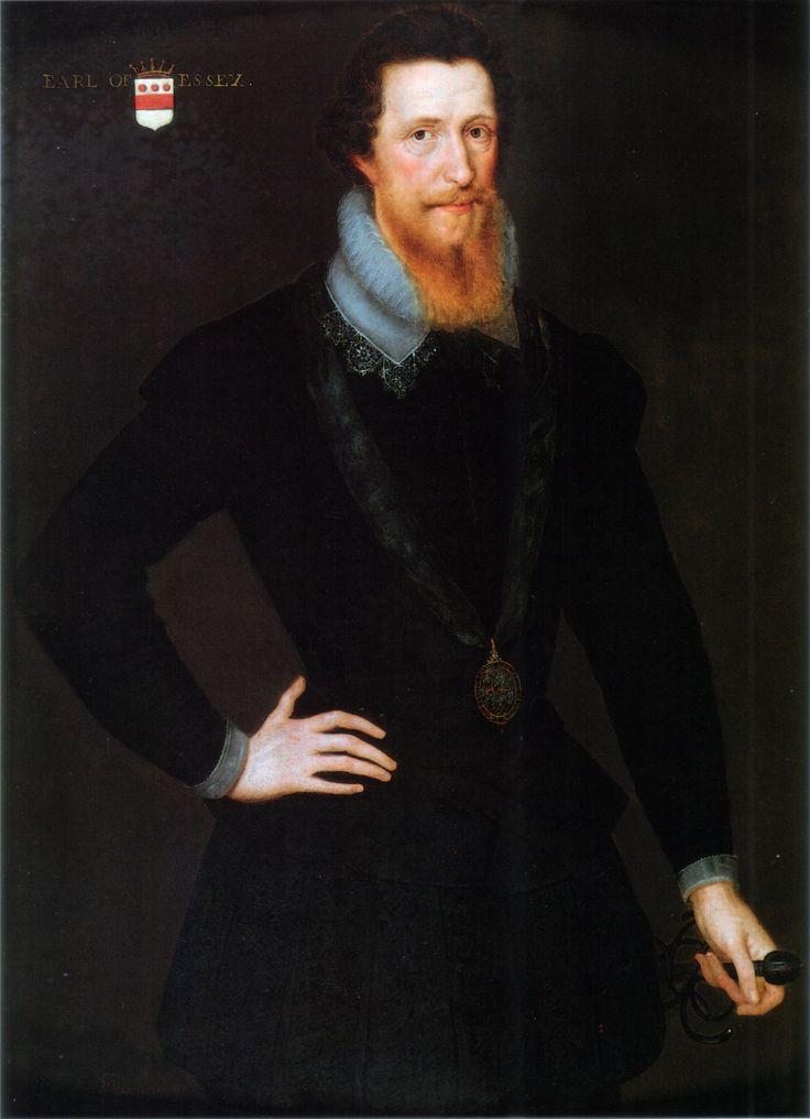Portrait of robert devereux 2nd earl of essex 1565 1601 for The devereux