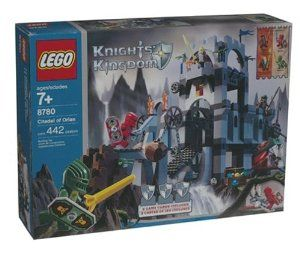 LEGO Knight's Kingdom: Citadel of Orlan(8780) by Lego. $153.99. For Ages 7 & Up. Add to your LEGO collection. Includes 442 pieces. Fun for imagination play. Great gift for any occasion. This ancient fortress was built to house a sacred order of knights—the Knights of the Citadel. Re-enact life in an ancient world and accompany these hero knights on their travels to the citadel with this LEGO Citadel of Orian set. Part of the Knights' Kingdom series, the fortress is ...