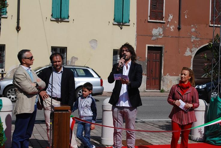Inaugurazione Piazza Grande a Carpenedolo 2013