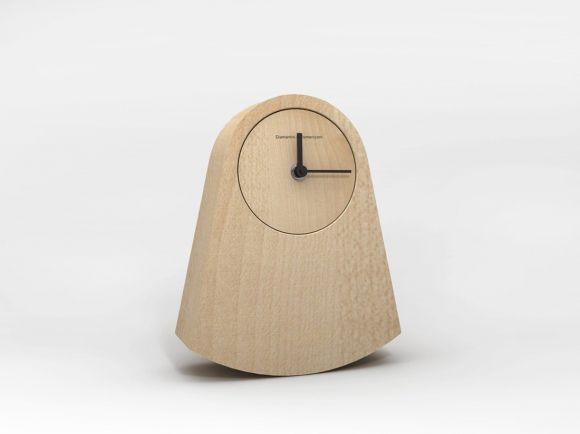 Ipno 'rocking' clock by Alessandro Zambelli for Diamantini & Domeniconi