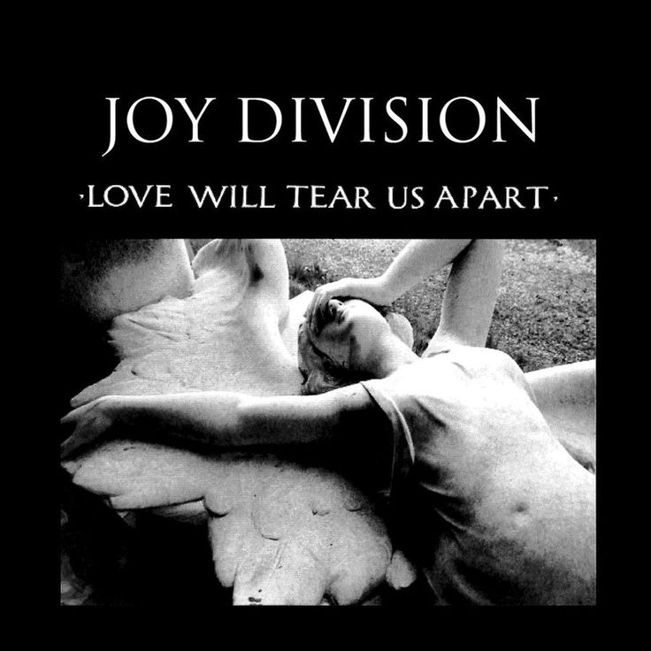 Joy Division picture sleeve for the single Love will tear us Apart 1980