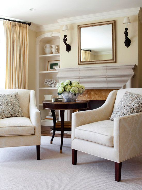 Fireplace ideas and Fireplace seating