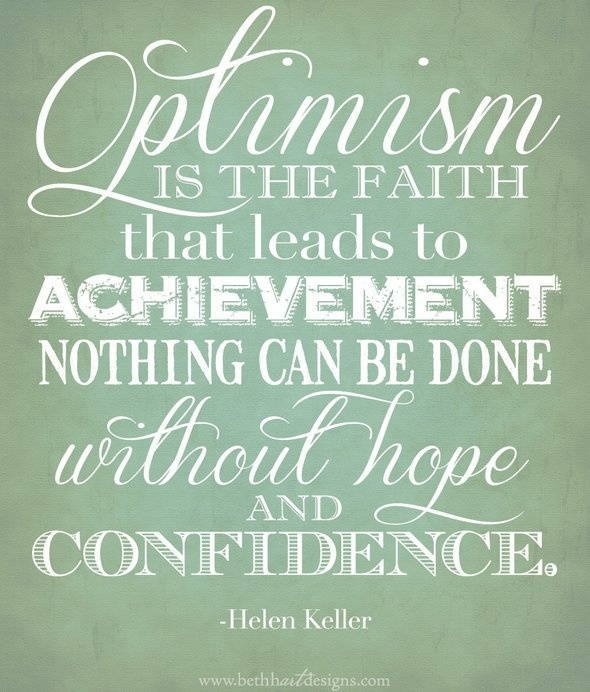 Eight Ways to Cultivate Optimism and Confidence By Dr ...