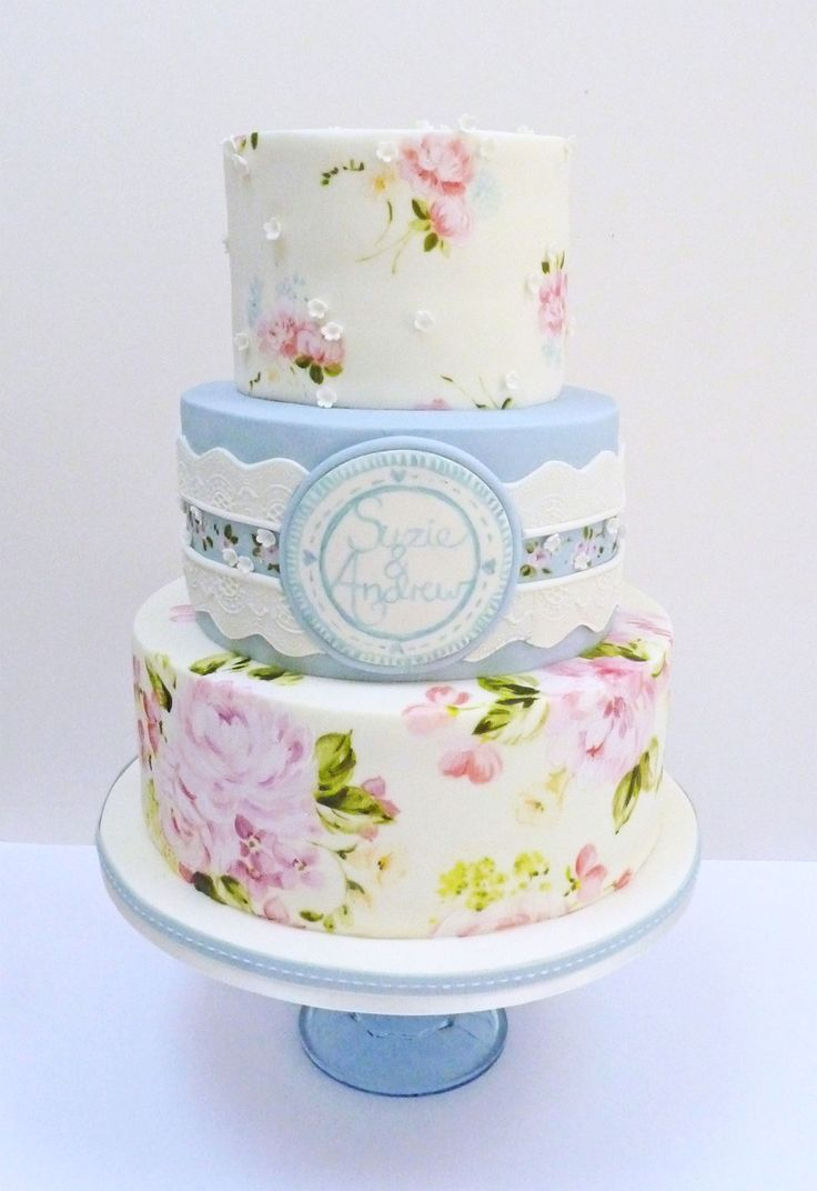 The 377 best Hand Painted Cakes images on Pinterest | Hand painted ...
