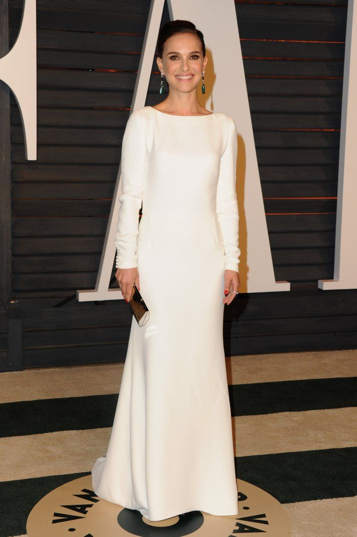 Pin for Later: See Which Stars Let Their Hair Down at Vanity Fair's Oscars Afterparty! Natalie Portman