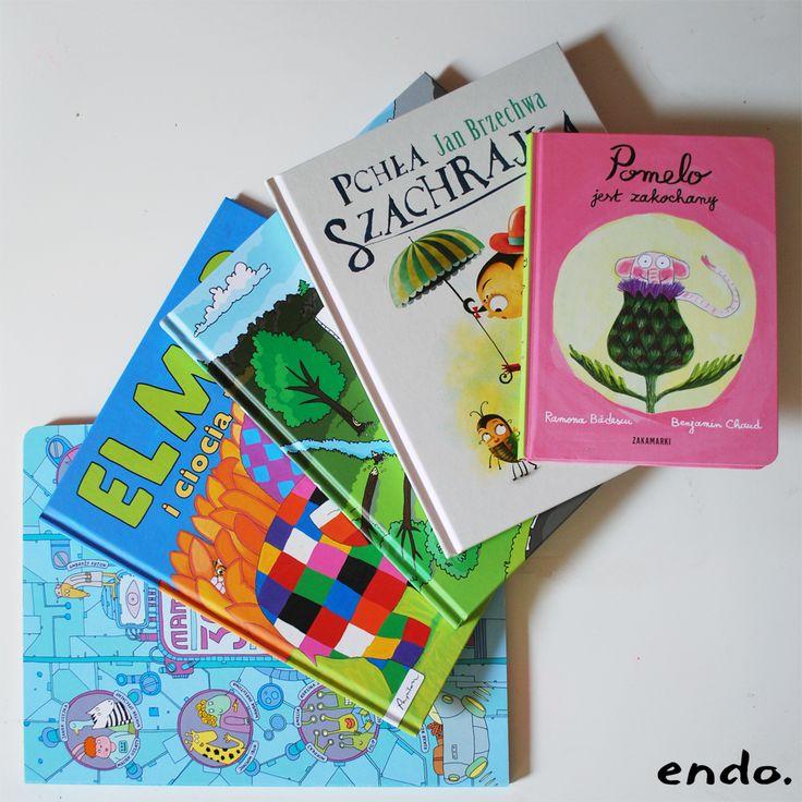 Książeczki dla dzieci. Endo ubranka z charakterem. Książki an dobranoc dla całej rodziny. http://endo.pl