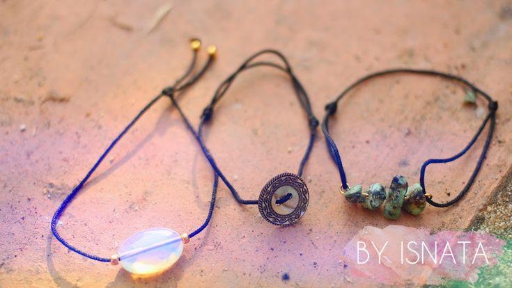 Comment créer des bracelets avec noeuds coulissants
