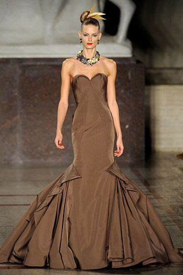 Zac Posen...I LOVE Zac...I LOVE chocolate...does it get any better than chocolate