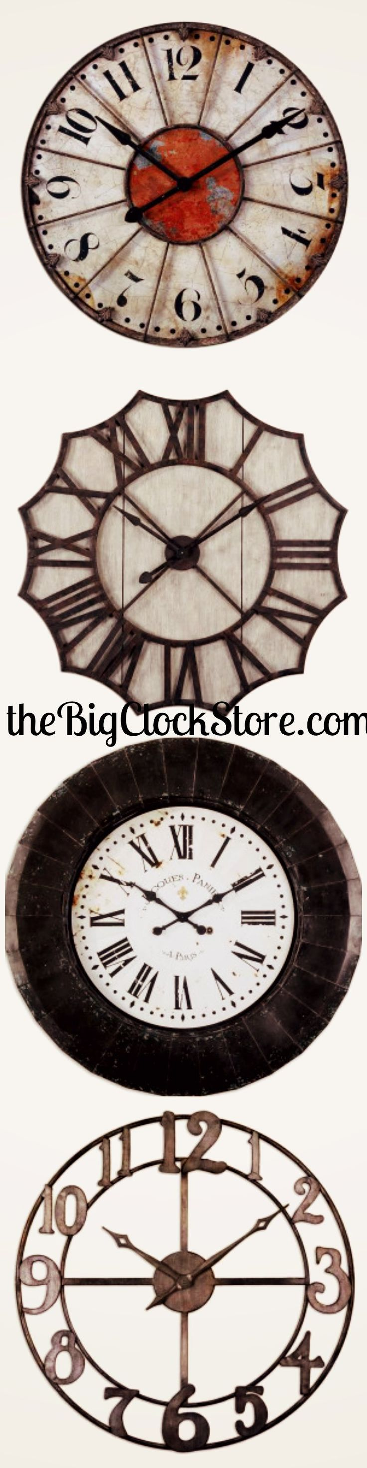 Am americana country wall clocks - Make A Statement With A White Wall Clock Order From The Big Clock Store Now