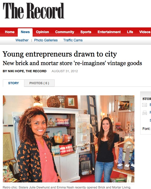 Young @BrickMortarLivi entrepreneurs drawn to #NewWest