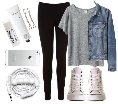outfits with leggings and converse - 4821 Best I'd Wear That Images On Pinterest