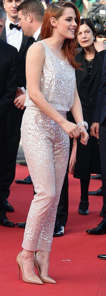 Kristen Stewart at the Clouds of Sils Maria Premiere.